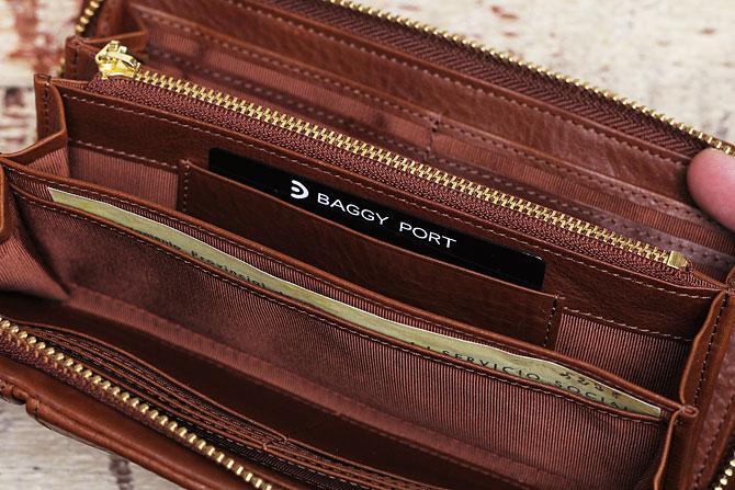 ラウンド財布 メンズ ミネルバボックス バギーポート lzys 8000 収納スペース