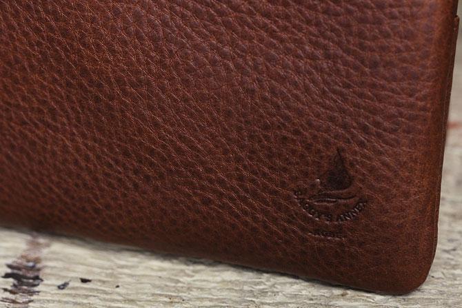 二つ折り財布 メンズ ミネルバボックス 本革 バギーポート lzys 8001 バギーズアネックス刻印