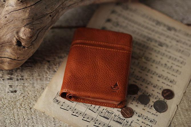 ハーフ折り財布 メンズ ミネルバボックス 本革 バギーポート lzys 8002 イメージ画像1