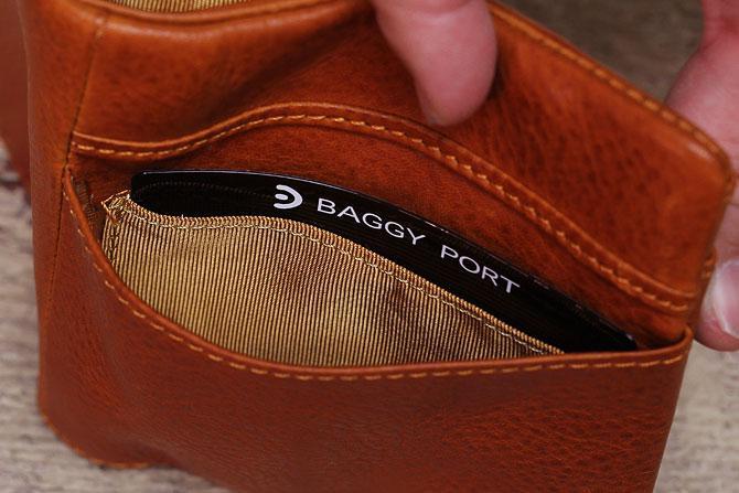 ハーフ折り財布 メンズ ミネルバボックス 本革 バギーポート lzys 8002 カード入れ2