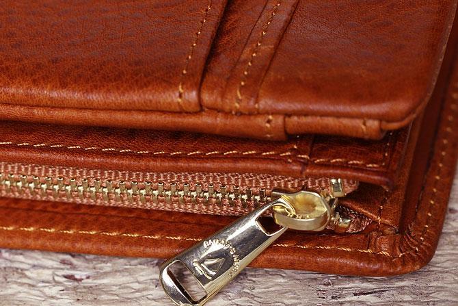 ハーフ折り財布 メンズ ミネルバボックス 本革 バギーポート lzys 8002 オリジナル引手