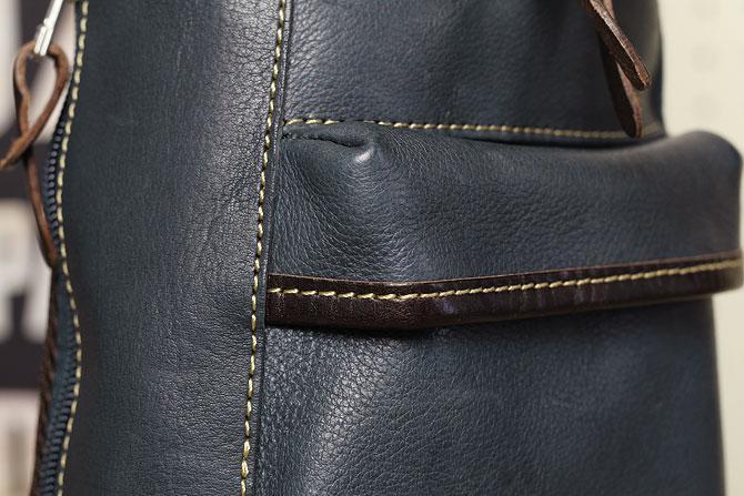 オイルレザー ボディバッグ メンズ Pray prbb003 A5 かぶせポケット
