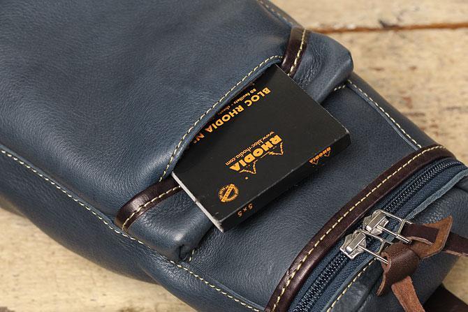 オイルレザー ボディバッグ メンズ Pray prbb003 A5 フロントポケット