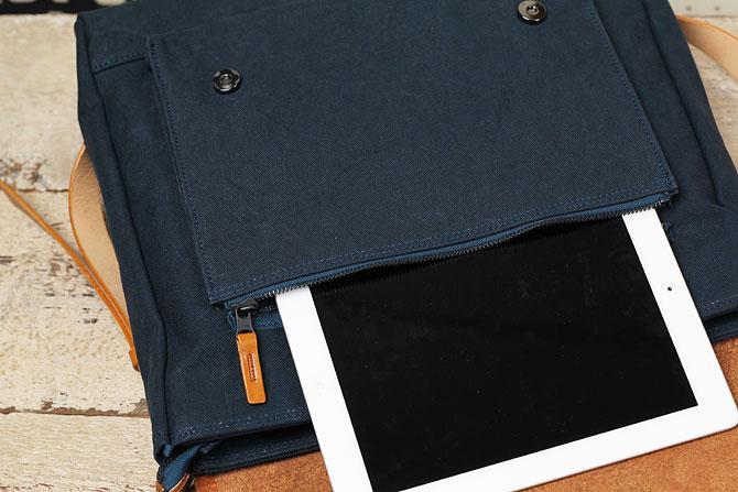 メンズ リュックサック 6号帆布×オイルバケッタ革 バギーポート tepp 461 A4 外ポケット