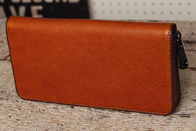 ラウンド財布 メンズ ミネルバボックス バギーポート zys 1300 キャメル