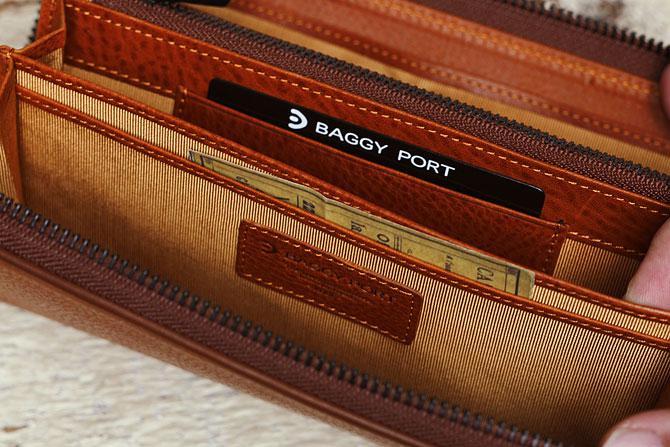 ラウンド財布 メンズ ミネルバボックス バギーポート zys 1300 収納スペース