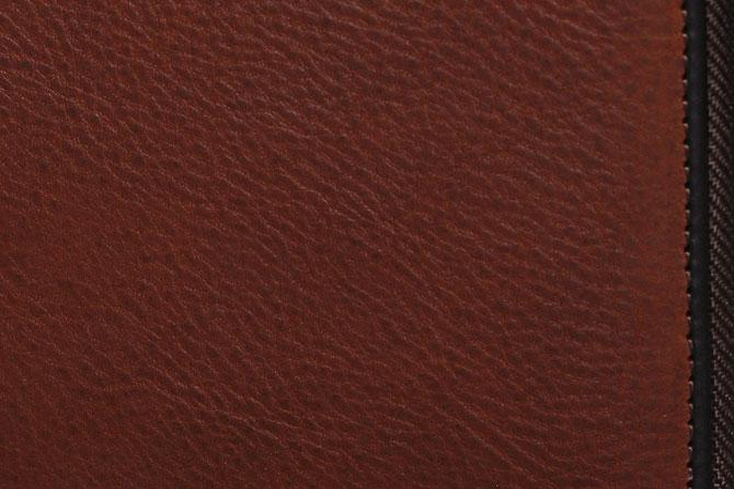ラウンド財布 メンズ ミネルバボックス バギーポート zys 1300 ブラウン素材アップ