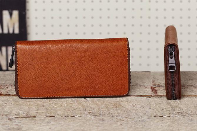 ラウンド財布 メンズ ミネルバボックス バギーポート zys 1300 背面、側面