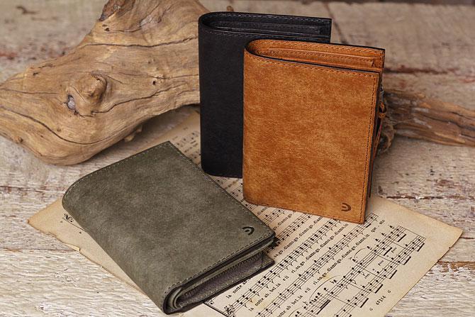 レザー 二つ折り財布 イタリアンレザー zys 2402 イメージ画像1