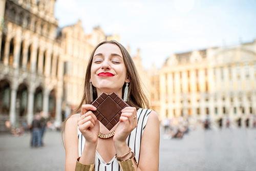 摂取量にこだわろう!1日に25グラム程度のチョコレートを食べる習慣をつける イメージ