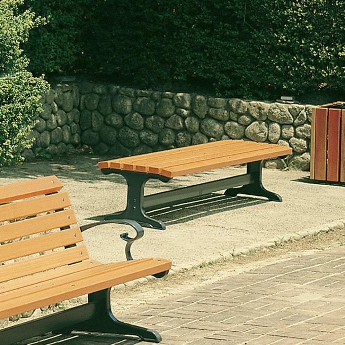サニーベンチ 幅180cm /ガーデンベンチ/木製 天然木 ウッド/ベンチ 屋外 公園/ウッドベンチ/おしゃれ 北欧 業務用/パークベンチ/庭/ガーデン/エクステリア/ガーデニング