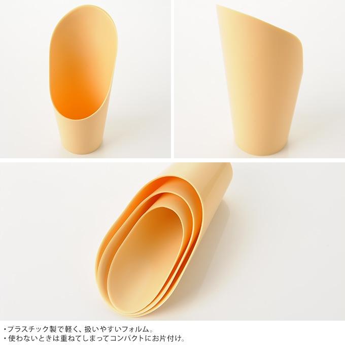 簡単土入れ プラスチック 3セット(大中小)  土の入れ替え 移植 移し替え 移動 片手 小型 土いじり