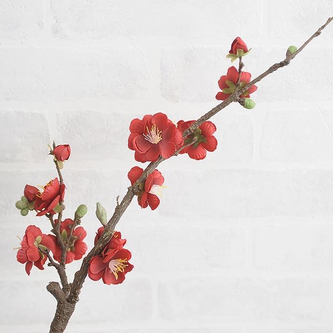 正月飾り 梅スプレー  和モダン 正月 手作り 材料 パーツ 玄関 縁起 オリジナル 和風 年初め おしゃれ 楽しく 準備 迎春