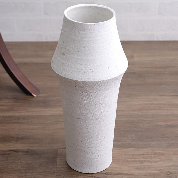 和菓子のような 和風 花器 筒形M  陶器 花瓶 フラワーベース 活け花 生け花 和室 玄関 客室 客間 活花 生花 華道 日本 プランターベース