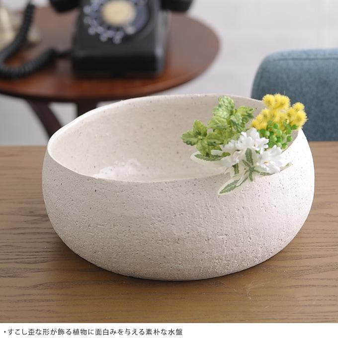 和風水盤花器