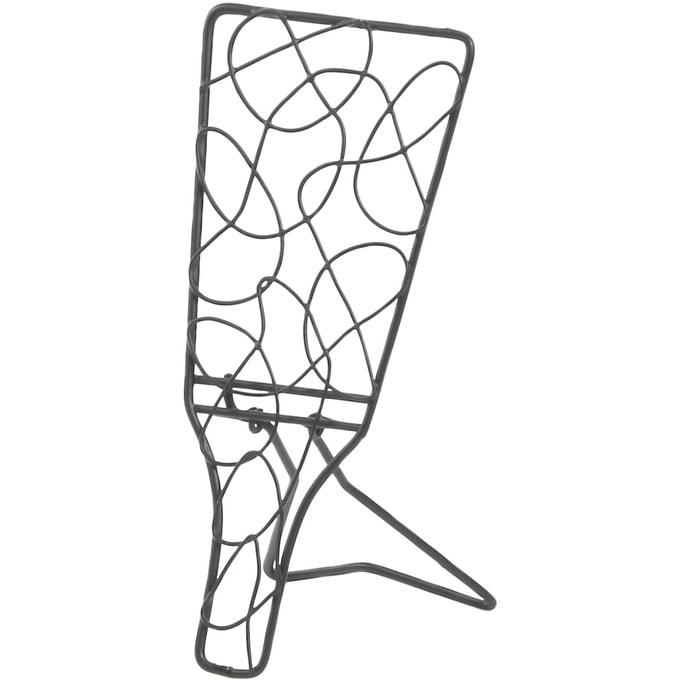アイアンワイヤー 羽子板 無作為模様 折り畳み S  ワイヤー オブジェ 和風 日本 和室 アイアン かわいい 白 インテリア 飾り 装飾 ディスプレイ フラワーアレジメント 楽しく
