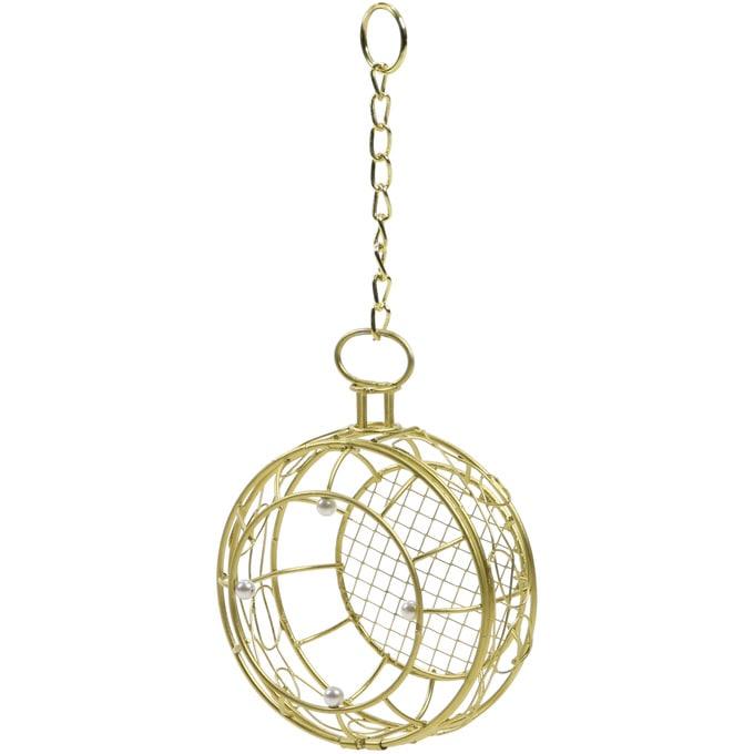 壁掛け アイアンワイヤー 懐中時計 金  ワイヤー オブジェ アイアン かわいい 白 インテリア 飾り 装飾 ディスプレイ フラワーアレジメント 楽しく