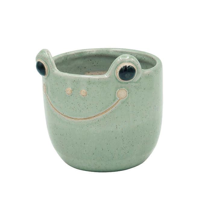 ポップアニマル プランターポット L  フラワーポット 動物 かわいい 小さい おしゃれ 鉢 花器 植木鉢 インテリア 置物 オブジェ