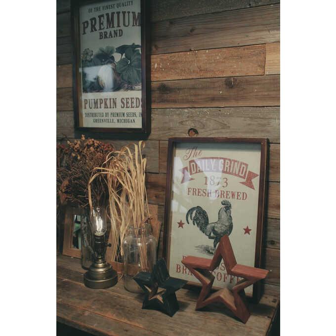 壁掛け アートパネル アメリカン ポスター チキン  ウォールデコ アート インテリア おしゃれ 絵 アメリカ ビンテージ