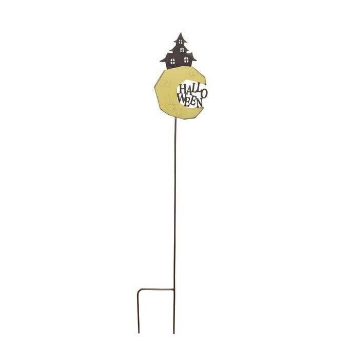 ガーデンピック ハロウィン おばけマンション L  ガーデニング ピック 鉢 飾り 花壇 目印 おしゃれ ガーデニング雑貨 フラワーピック