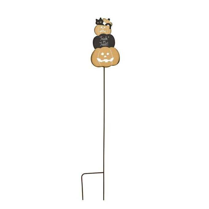 ガーデンピック ハロウィン カボチャツリー L  ガーデニング ピック 鉢 飾り 花壇 目印 おしゃれ ガーデニング雑貨 フラワーピック