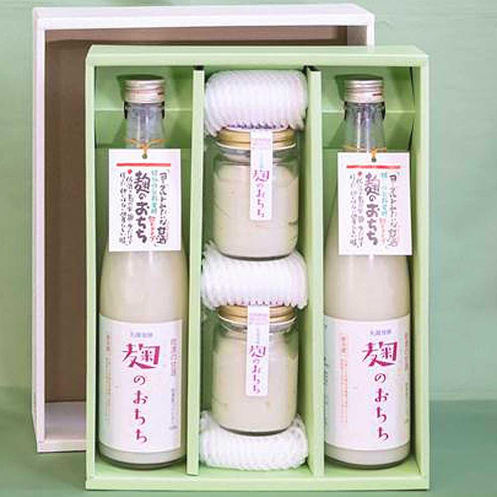甘酒麴のお乳飲むタイプ・食るタイプ詰合セット
