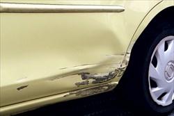 様々な種類がある車の傷