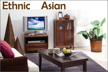 エスニックやアジアンテイストのテレビ台