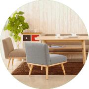北欧家具の画像