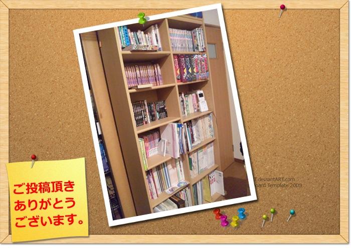 つっぱり式書棚のレビュー