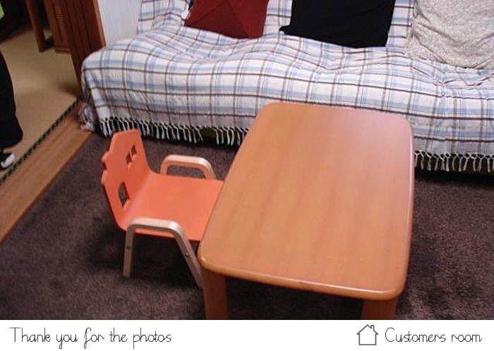 子供用椅子お客様の声