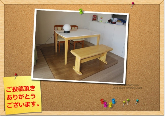 ダイニングテーブル白天板モダン幅120cm