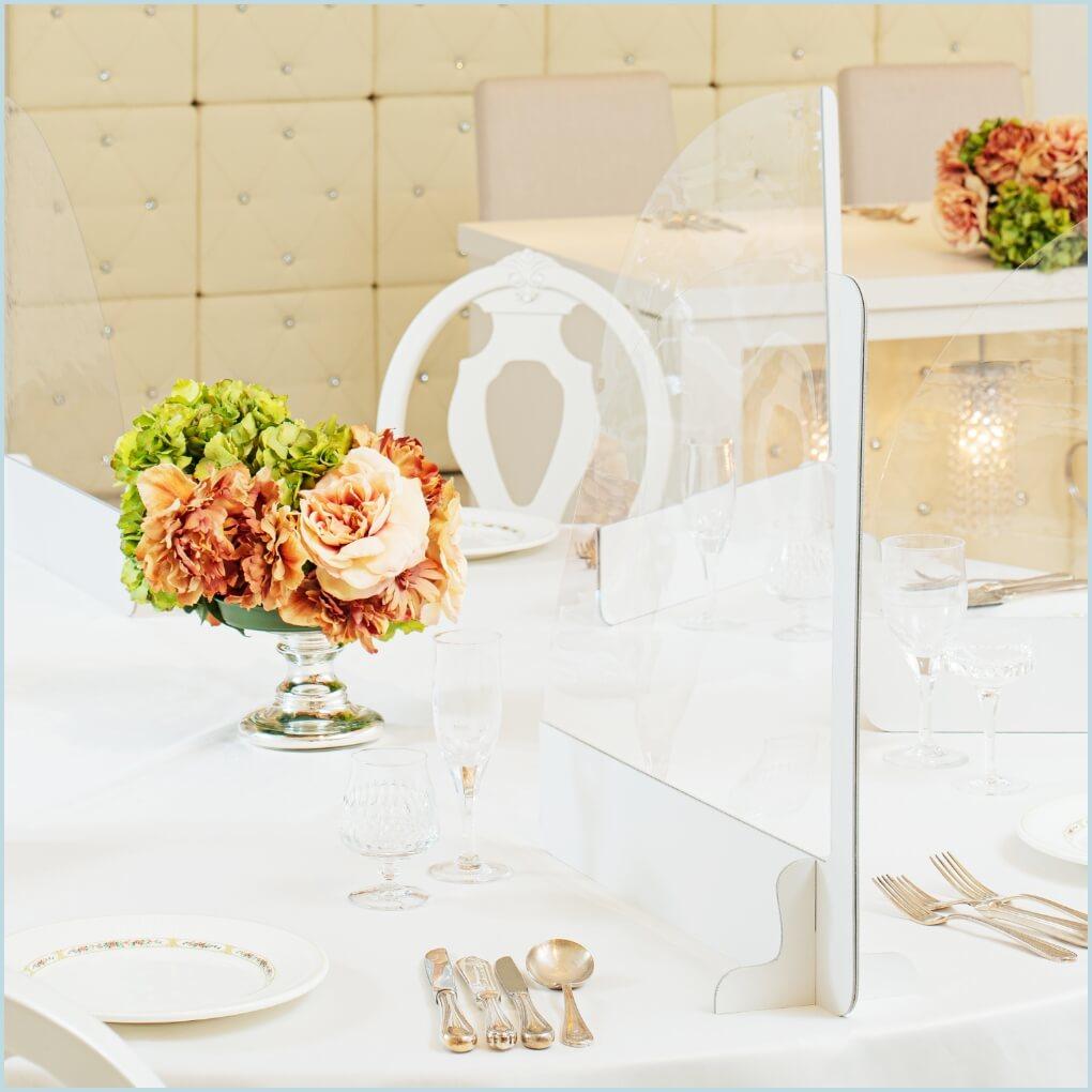 結婚式やイベントの飛沫感染対策に