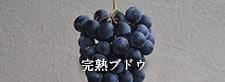 完熟ブドウ