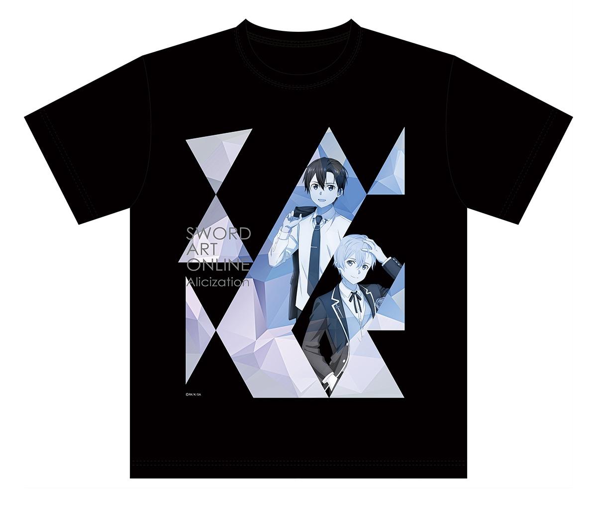 描きおろしTシャツ キリト&ユージオ