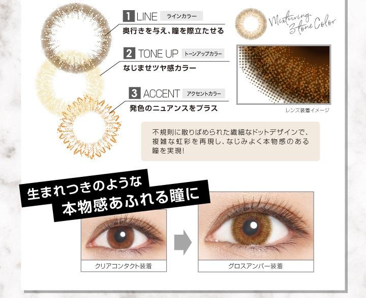 エバーカラーワンデールクアージュ 沢尻エリカ イメージモデル 10枚入り:生まれつきのような本物感あふれる瞳に
