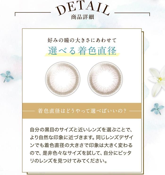 セレクトフェアリー ユーザーセレクトマンスリー_好みの瞳の大きさにあわせて選べる着色直径