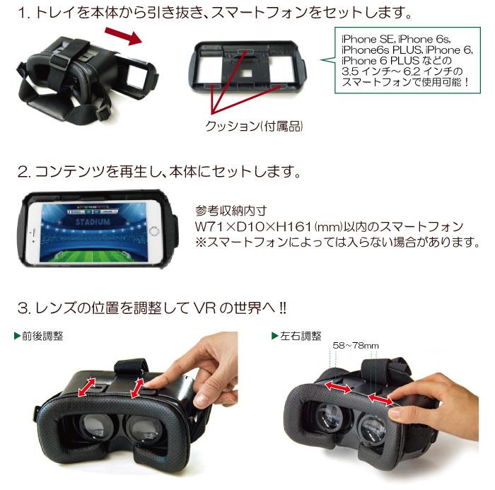 VR操作方法
