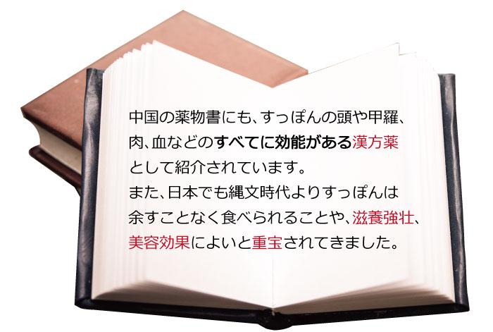 本:すっぽんの歴史
