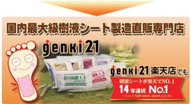 足裏樹液シート専門店 【genki21】