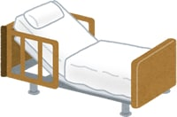 介護ベッドの画像
