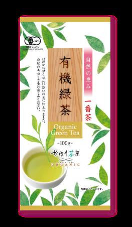 かほり茶房 有機緑茶 一番茶 100g