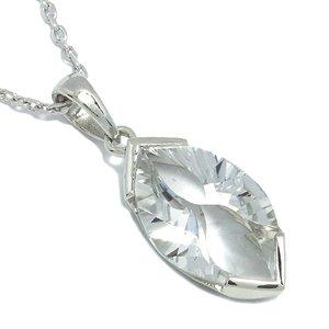 ロシア産 カット水晶 シルバーネックレスの通販ページへ