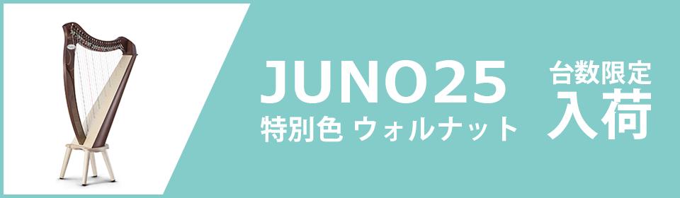 JUNO25限定台数入荷