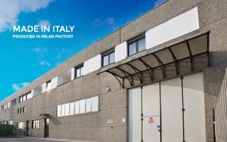 イタリアミラノで製造
