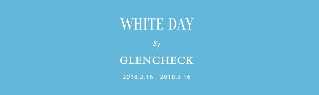ホワイトデー グレンチェック