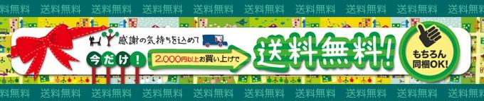 2000円送料無料