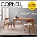 北欧 スタイル デザイナーズ ダイニング コーネル|ダイニングテーブルセット