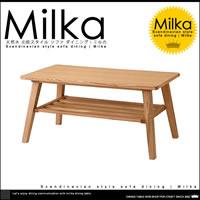 ミルカ ローテーブル W80