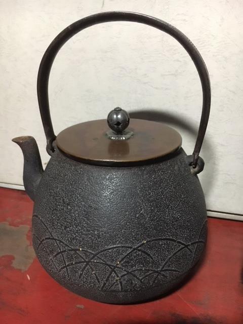 茶道具・煎茶道具の鉄瓶・茶器買取